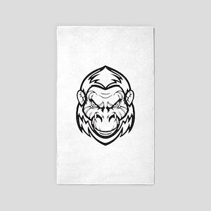 Ape - Primate 3'x5' Area Rug