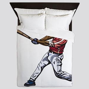 Baseball - Sports Queen Duvet