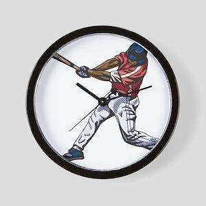 Baseball - Sports Wall Clock