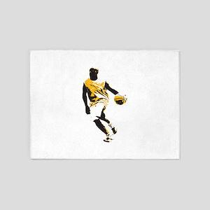 Basketball - Sports 5'x7'Area Rug
