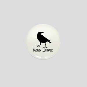 Raven Lunatic - Halloween Mini Button