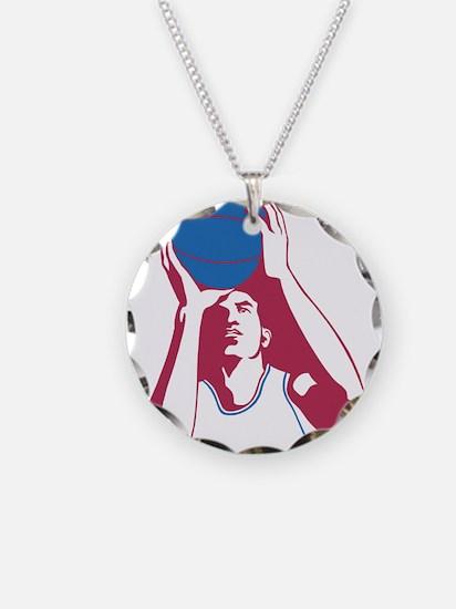 Basketball - Sports Necklace