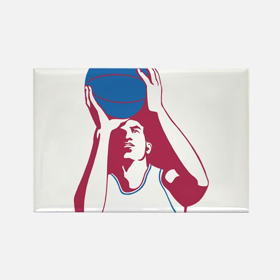 Basketball - Sports Magnets