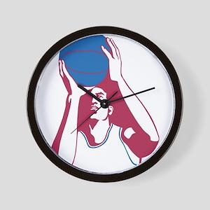 Basketball - Sports Wall Clock