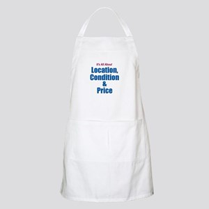 Location, Condition and Price BBQ Apron