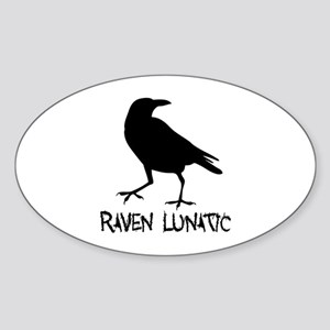 Raven Lunatic - Halloween Sticker