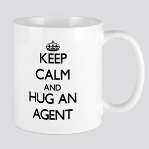 Keep Calm and Hug an Agent Mugs