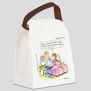 New Yorker Children Canvas Lunch Bag