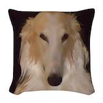 Borzoi Sophisticate Woven Throw Pillow