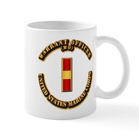 USMC - Warrant Officer - WO Mug