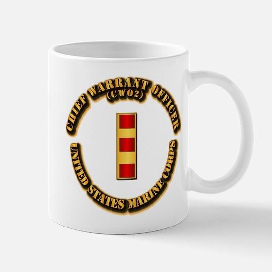 USMC - Chief Warrant Officer - CW2 Mug