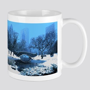 central-park-new-york-winter1 copy Mugs
