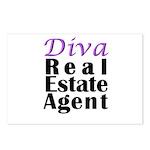 Diva Real estate Agent Postcards (Package of 8)