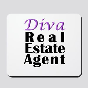 Diva Real estate Agent Mousepad