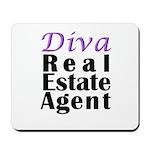 Diva Real estate Agent Mousepad