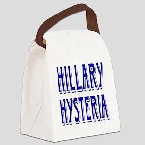 HILLARY HYSTERIA Canvas Lunch Bag