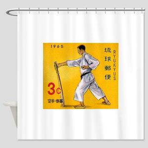 1965 Ryukyu Islands Makiwara Strengthening Stamp S
