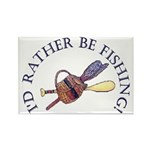 I'd Rather Be Fishing! Magnets (10 pack)