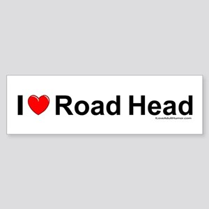 Road Head Sticker (Bumper)