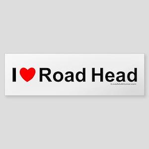 Road Head Sticker (Bumper)