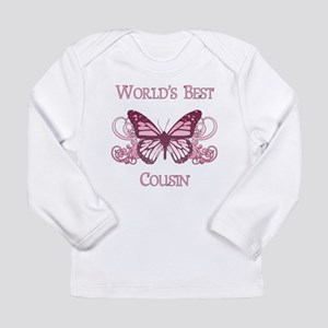 World's Best Cousin (Butterfly) Long Sleeve Infant