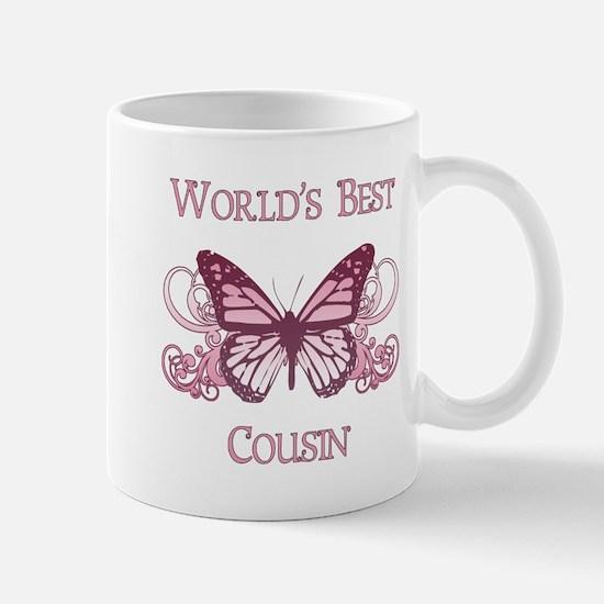 World's Best Cousin (Butterfly) Mug