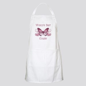World's Best Cousin (Butterfly) Apron