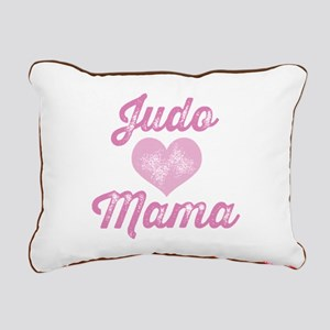 Judo Mom Rectangular Canvas Pillow