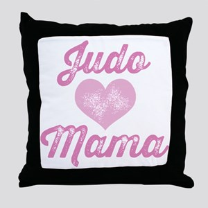 Judo Mom Throw Pillow