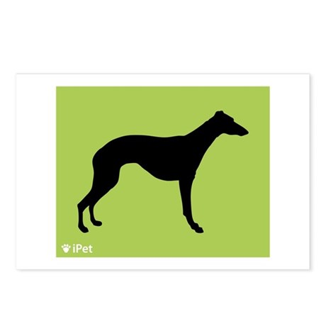 Whippet iPet Postcards (Package of 8)