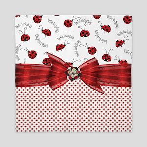 Little Ladybugs Queen Duvet