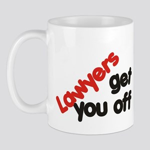Lawyers get you off Mug