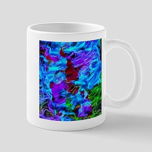 color vision, blue Mugs