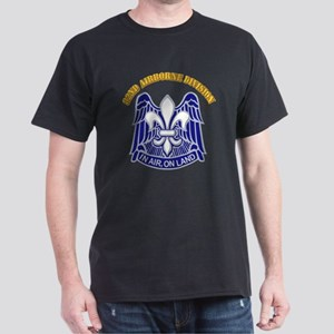 DUI - 82nd Airborne Division with Text Dark T-Shir