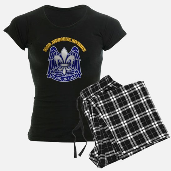 DUI - 82nd Airborne Division with Text Pajamas