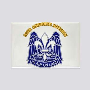 DUI - 82nd Airborne Division with Text Rectangle M