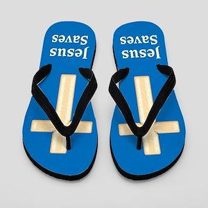 FAITH IN JESUS Flip Flops