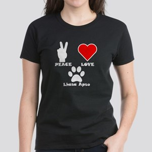 Peace Love Lhasa Apso T-Shirt