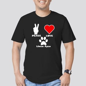 Peace Love Lhasa Apso T-Shirt
