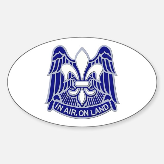 DUI - 82nd Airborne Division Sticker (Oval)