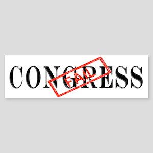 Congress Fail Bumper Sticker