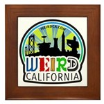 Weird California Logo Framed Tile