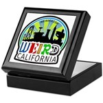 Weird California Logo Keepsake Box