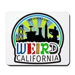 Weird California Logo Mousepad