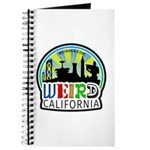 Weird California Logo Journal