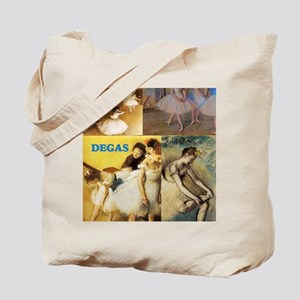 Degas Collage Tote Bag