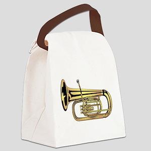 Tuba Canvas Lunch Bag