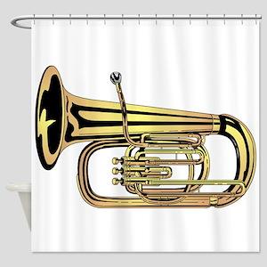 Tuba Shower Curtain