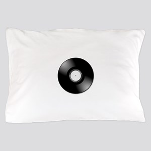 Vinyl Record Pillow Case