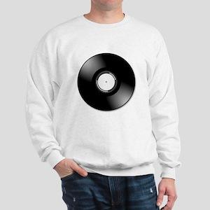 Vinyl Record Sweatshirt